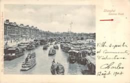 CHINA CHINE SHANGHAI  Soochow Suzhou Creek River En 1904 - China