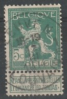 COB N° 110 Oblitération LEUVEN LOUVAIN 1914 - 1912 Pellens