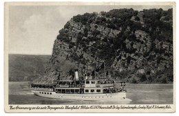 "COLOGNE - 1er Voyage Propagande Du NSDAP Sur Le Rhin - Dec. 1930 - ""Loreley"" Kapt. R. Schweers, KÖLN (Croix Gammée) - Koeln"