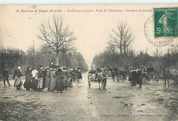 CHASSE A COURRE FORET DE VILLEFERMOY NANGIS 77 SEINE-ET-MARNE - Francia