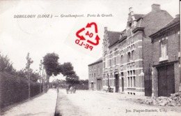 BORGLOON (LOOZ) - Graethempoort. Porte De Graeth. - Carte Animée - Borgloon