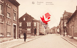 BORGLOON - LOOZ - Wellenstraat - Rue De Wellen - Carte Animée - Borgloon