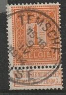 COB N° 108 Oblitération TEMSCHE TAMISE 1914 - 1912 Pellens