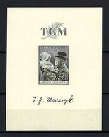 1938 Czechoslovakia Mi 391 Block 3 * MLH - Ungebraucht