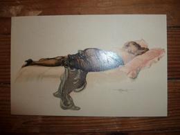CPA / Carte Postale Ancienne / Illustration / Modèles D'atelier / A. PENOT - Illustrators & Photographers