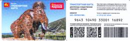 Transport  Card  Russia. Magadan 2019 - Russia