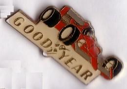 VP100 Pin's FERRARI FORMULE 1 PNEU GOOD YEAR Achat Immédiat - Ferrari