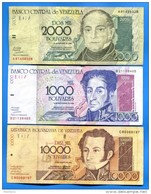 Vénézuela  10  Billets - Venezuela