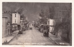Orofino Idaho, Street Scene Business District, Autos, C1930s Vintage Real Photo Postcard - Altri