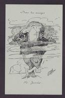CP Reproduction ALBI Jaurès Jean Satirique Caricature Non Circulé - Satirical