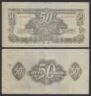 Ungarn - Hungary 20 Pengo Banknote 1944 Pick M7 F (4)  (25497 - Ungarn