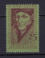 Niederlande  Mi. 927 Postfrisch 500 Geburtstag Erasmus Von Rotterdam 1969 (80069 - Nederland