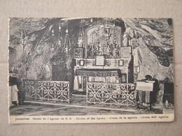 Israel / Jerusalem - Grotte De L'Agonie De N. S. Grotto Of The Agony - Israel