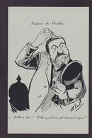 CP Reproduction ALBI Jaurès Jean Satirique Caricature Non Circulé Carmaux - Satirical