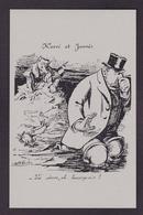 CP Reproduction ALBI Jaurès Jean Satirique Caricature Non Circulé Pot De Chambre - Satiriques