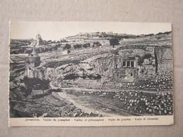 Israel / Jerusalem - Valley Of Jehosaphat - Israel
