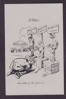 CP Reproduction ALBI Jaurès Jean Satirique Caricature Non Circulé - Satiriques