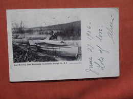 Boat Mooring Lake Mambasha Southfields NY > Ref  3859 - Sonstige