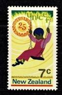 New Zealand 1971 UNICEF Anniversary MNH - Nouvelle-Zélande