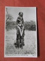 Topless Young Married Women Of Turkana Tribe  Ref  3860 - Etnisch Naakt