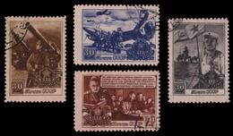 Russia / Sowjetunion 1948 - Mi-Nr. 1194-1197 Gest / Used - Armee - 1923-1991 UdSSR