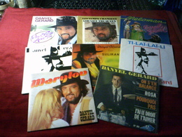 DANYEL GERARD   COLLECTION DE 8  / 45 TOURS - Complete Collections