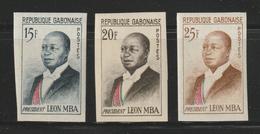 Gabon - 1962 - Imperf. - ( President Leon Mba ) - MNH (**) - Gabon