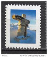 ##10, Canada, Vignette, Cinderella, Inukshuk, Indiens D'amérique, Amérindien, Amerindian, Polaire, Polar, Inuit - Vignettes De Fantaisie