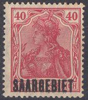 SAAR - SARRE - 1920 - Yvert 42 Nuovo MNH. - 1920-35 Società Delle Nazioni