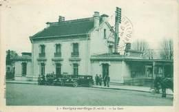 """/ CPA FRANCE 91 """"Savigny Sur Orge"""", La Gare"""" - Savigny Sur Orge"""