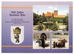 Berlin - 700 Jahre Berliner Bär - Der Bärenzwinger Im Köllnischen Park (2) - Autres