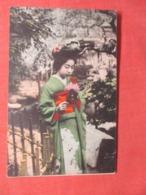 Japan Female  Has Impression Mark  Ref  3861 - Asia