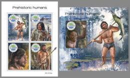 SIERRA LEONE 2019 MNH Prehistoric Humans Prähistorische Menschen Humains Prehistorique M/S+S/S - OFFICIAL ISSUE - DH1948 - Préhistoire