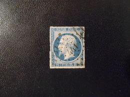 FRANCE YT10 LOUIS-NAPOLEON 25c. Bleu Losange PC 441 - 1852 Louis-Napoléon