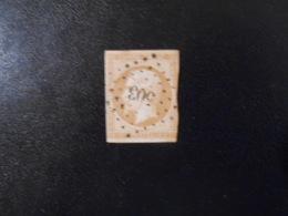 FRANCE YT13B NAPOLEON III TYPE II 10c. Brun-clair Losange PC 503 - 1853-1860 Napoleon III