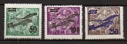 1922 Czechoslovakia Mi 199-201 * MLH - Ungebraucht