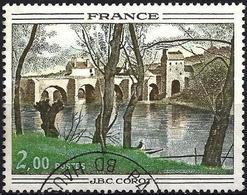 France 1977 - Mi 2012 - YT 1923 ( Bridge Of Mantes, Painting By Corot ) - Oblitérés