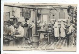Paris Vilmorin Andrieux Quai De La Messagerie,laboratoire De Verrieres - Francia