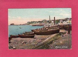 PORTUGAL, MADEIRA, The Beach, Animée, Colorisée, 1911 - Madeira