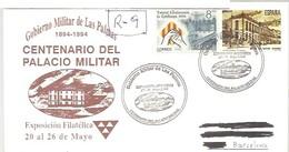 MATASELLOS 1991   LAS PALMAS  CERTIFICADO - 1931-Hoy: 2ª República - ... Juan Carlos I