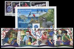 1995, Pitcairn, 440-43 U.a., ** - Briefmarken