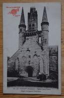 56 : Le Faouet - Eglise Saint-Fiacre - Animée : Petite Animation - Offert Par Les Conserveries Chemin - Paris -(n°17062) - Le Faouet