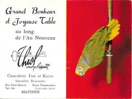 Calendrier Publicitaire 1968: Charcuterie Thiol à Mayenne, Rue Saint-Martin - Calendarios