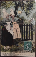 "CPA, Illsutrateur ROB, ""GAULOISERIE NORMANDE"", écrite 1913, Normandie, Humour Grivois - Altre Illustrazioni"