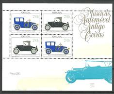 Portugal 1992 Cars, Renault (1911),  Ford Modell T (1927),  Mi Bloc 83 MNH(**) - 1910-... Republic