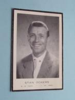 Wielrenner STAN OCKERS > 3-2-1920 > 1-10-1956 ( Fam. Ockers-De Smet > Dank Prent + Foto 1955 GVA Copyright ) ! - Todesanzeige