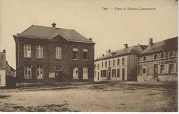 OGY - LESSINES - Place Et Maison Communale (Edit. Vve Bruyère) - Lessines