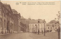 Leuven - Louvain - Place De L'Université - Collège Du Pape Et Statue André Dumont - Hoogeschoolplaats (Uitg FLION Nr 90) - Leuven