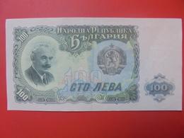 BULGARIE 100 LEVA 1951 CIRCULER (B.5) - Bulgarie