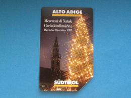 ITALIA TELECOM - 3354 C&C 4AA GOLDEN - PRIVATE PUBBLICHE - ALTO ADIGE MERCATINI DI NATALE - USATA - Italië